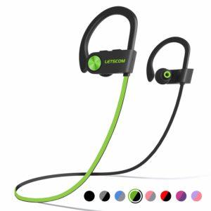 LETSCOM Bluetooth Headphone IPX7